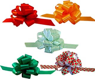 Assorted Christmas Gift Pull Bows - 5