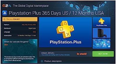 12 Month PlayStation Plus Membership Zone 3 - PS3/ PS4/ PS Vita [Digital Code]