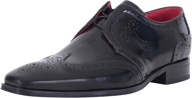 Jeffery West herrar herrar herrar Polerad skor, svart  bra rykte
