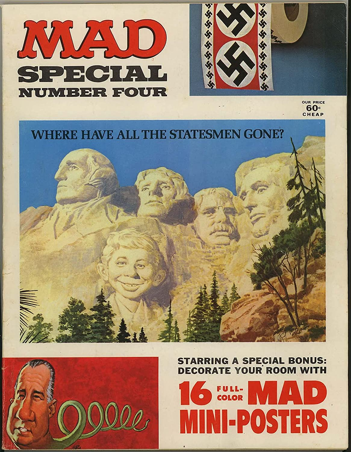 Mad Magazine Special Number Four - Max 88% OFF all complete Mini-Poster Limited price sale with