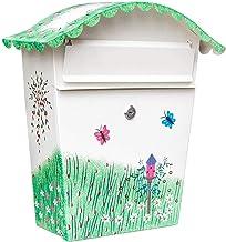FSFF brievenbussen brievenbus thuis krant tijdschrift opbergkast metalen regendicht klein pakket levering doos met slot en...