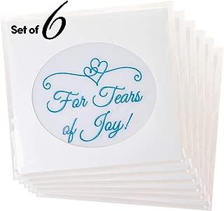 Fun Wedding Handkerchiefs | Set of 6