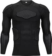 Body Safe Guard acolchado deportivo de compresión Shorts protector de costilla Leg Traje protector para fútbol Basketball Paintball Rugby Parkour Extreme Exercise