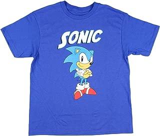 Sonic the Hedghog Sonic Big Boys T-Shirt
