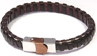 James Dean Jewelry Men's Fashion Jewelry Brown Genuine...