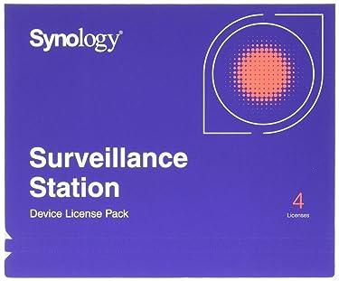 Paquete de licencia de cámara IP Synology para 4 (CLP4)
