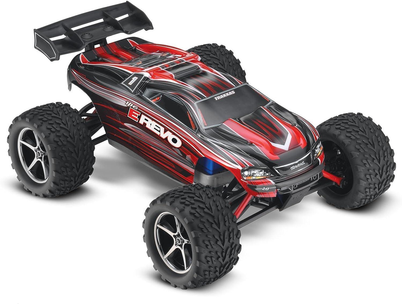 Traxxas Elektro E-Revo Brushed 4WD 1 16 2,4 Ghz RTR rot