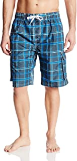 Men's Miles Swim Trunks (Regular & Extended Sizes)