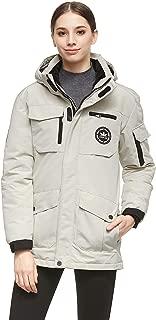 Women's Warm Parka Jacket Anorak Winter Coat with Multiple Pockets