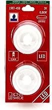 Konstsmide Battery Indoor LED Tea Light 2 Piece Set Including Batteries Purple