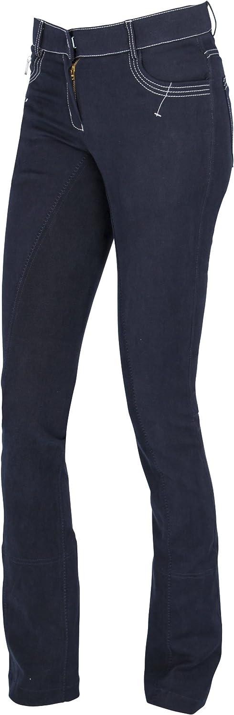 Covalliero Damen Cov.Reithose Cov.Reithose Cov.Reithose BasicPlus Jodhpur blau, Größe 44 Reithose B07D41RK9S  Bevorzugtes Material 740d43