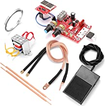 مجموعة أدوات لحام بقع البطارية NY-D01 لوحة تحكم شاشة رقمية مع قلم لحام 9 فولت ودواسة قدم معدنية 40A 100A