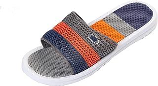 CORPS GEMA Men's Sandals Light Weight Waterproof Elastic Slippers Sandals Shower Walk Relax