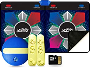 Dance Mat Pad Pads, Draadloze Dubbele Dans Mat, Arcade Style Games 3D Somatosensory Machine (Color : PVC 30mm b)