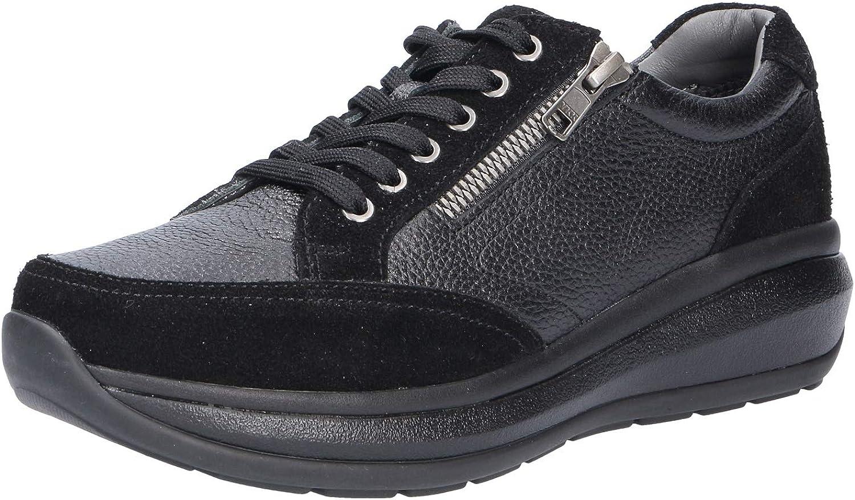 Joya Womens Berlin II Leather shoes Black