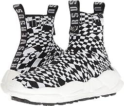 Checkerboard Socks Sneaker
