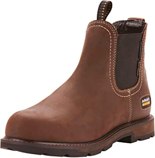 Men's Groundbreaker Chelsea Waterproof Steel Toe Work Boot
