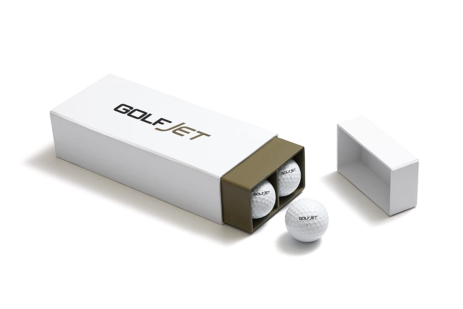 GolfJet JET4 Pack | One Dozen Premium JET4 Golf Balls. 4-Layer Twin Power Core, Ultrasoft 338 Dimple Hex Aero Urethane Cover. Longer Drives, More Game Spin, Optimum Feel for Ultimate Control.