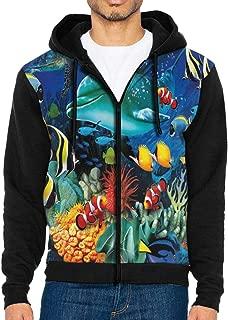 weird fish mens 1 4 zip sweatshirt