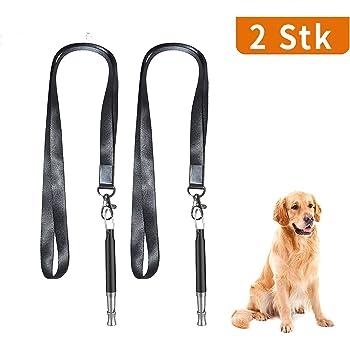 Silber Balacoo Hundepfeife einstellbare Pitch Ultraschall Hundetraining Tools professionelles Hundetraining Pfeife