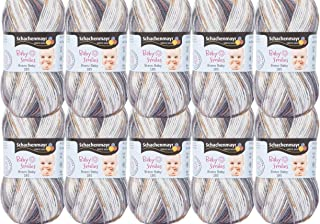 Schachenmayr Baby Smiles Bravo Baby 185 Color 200 Leon Lot de 10 pelotes de 50 g de laine à tricoter pour crochet de 3 à ...