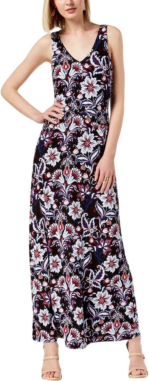 INC International Concepts Women's FloralPrint Maxi Dress
