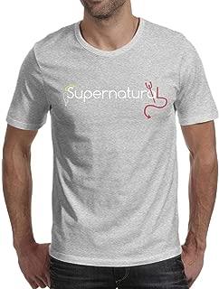 Man Supernatural-Art- Cotton Blend Short Sleeve tee Shirt