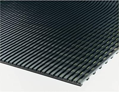 Mats Inc. Airpath - Alfombrillas (3 x 10 Pulgadas), Color Negro