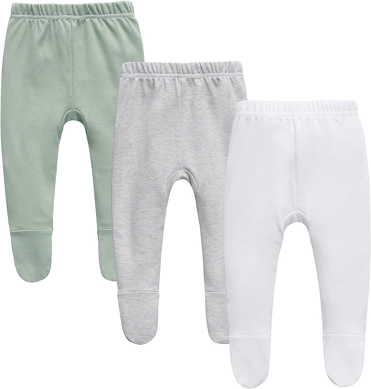 O2baby Organic Cotton Unisex Baby Jogger Pants & Leggings Set