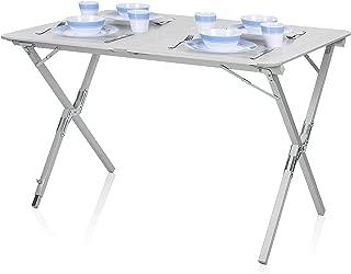 Mesa de camping Campart Travel TA-0802 – 110 x 70 cm –
