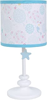 Disney Ariel Sea Princess Lamp Base with Shade, Blue/White/Gold/Pink