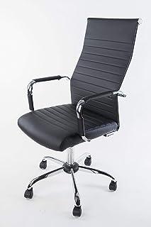 NAKURA Silla de Oficina Estudio despacho Escritorio recepción Trabajo y teletrabajo elevable reclinable con Apoyo Lu...