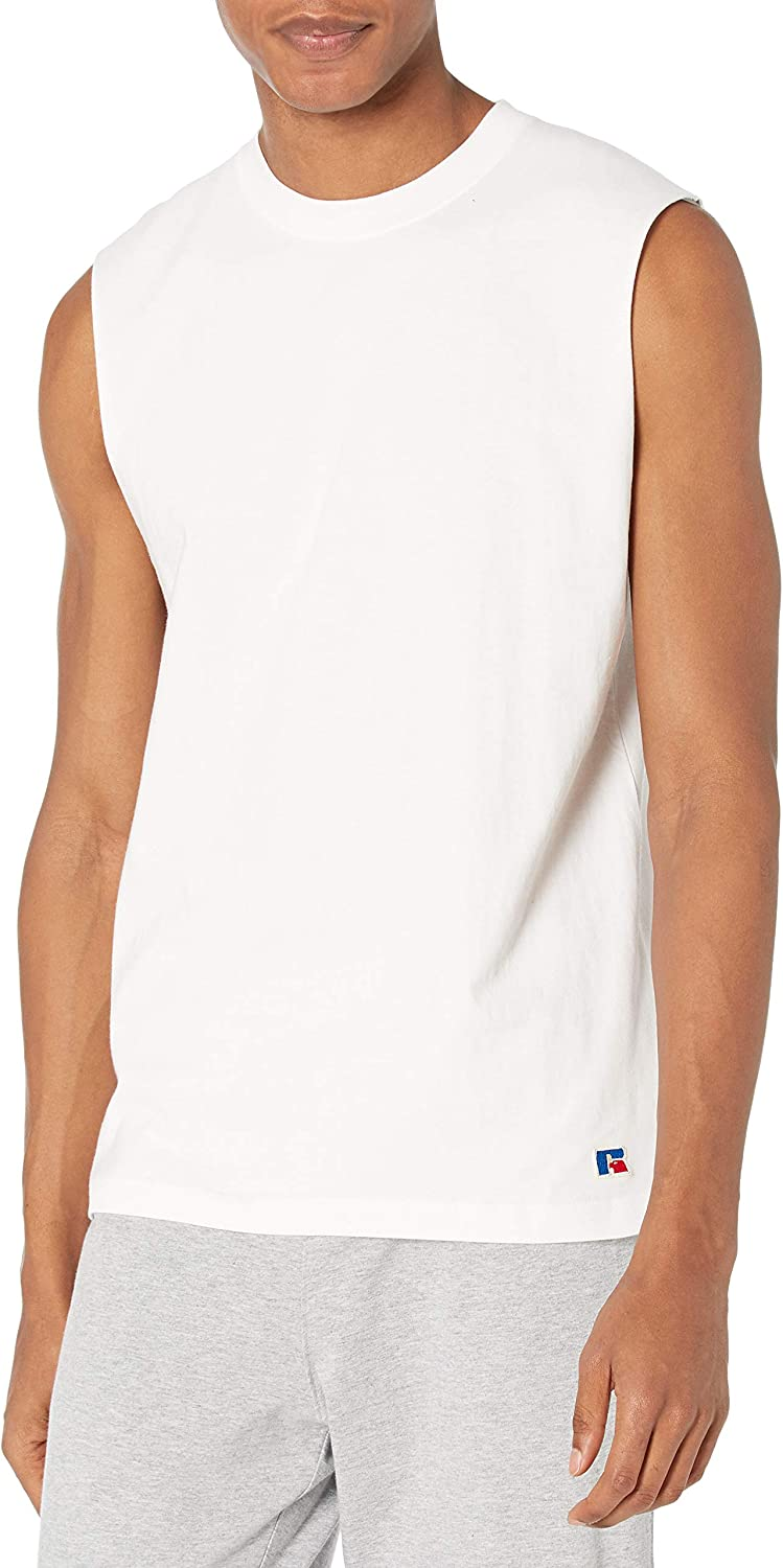 Russell Athletic Men's Soft 100% Midweight Cotton Atlanta Mall Mus Discount is also underway Sleeveless