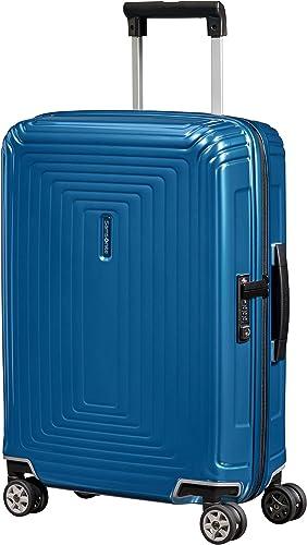 Samsonite Neopulse - Spinner S (Largeur : 20 cm) Bagage Cabine, 55 cm, 38 L, Bleu (Metallic Intense Blue)