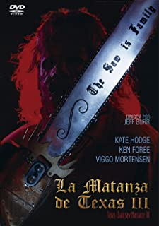La Matanza de Texas III  1990 Leatherface: Texas Chainsaw Massacre III [DVD]