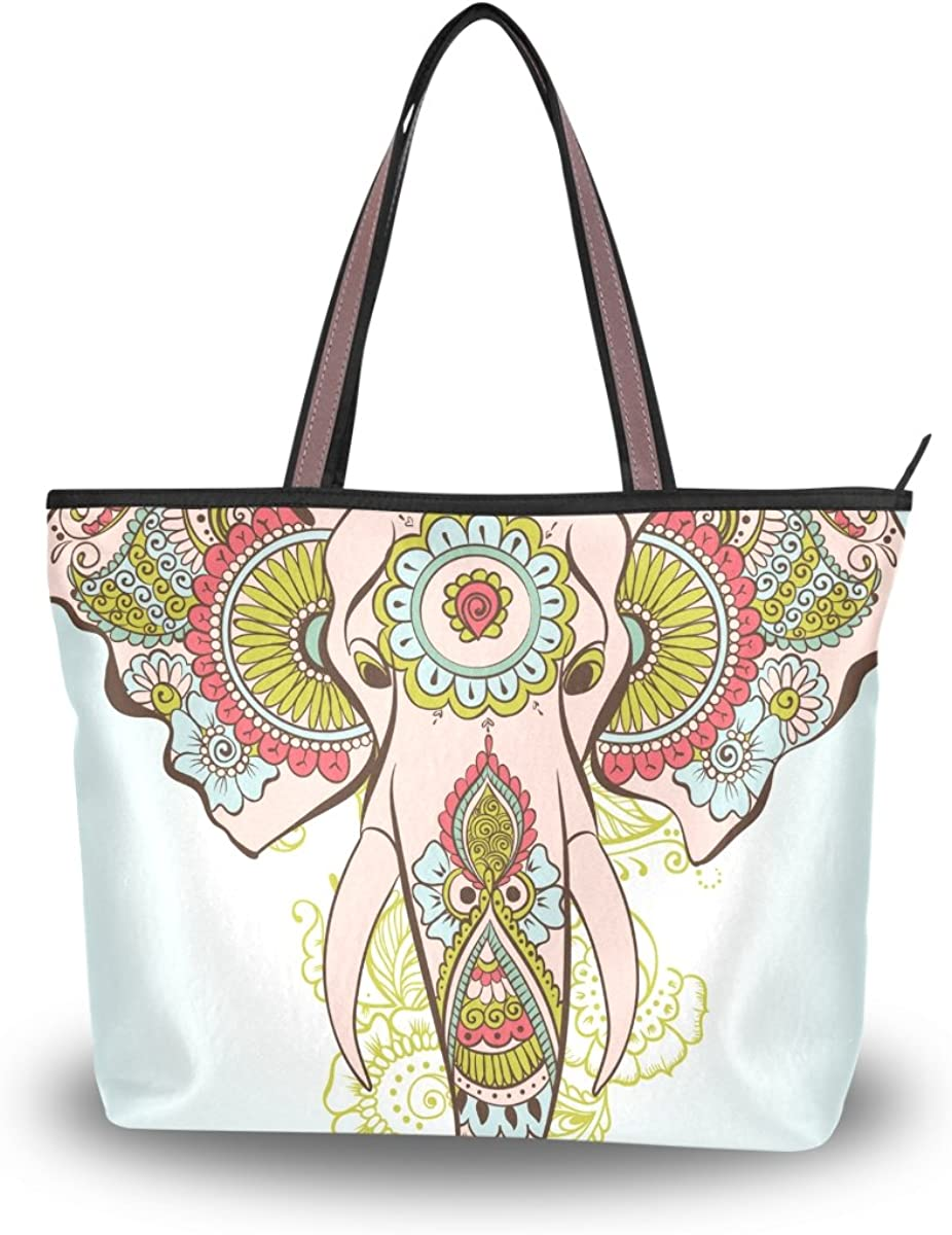 JSTEL Women Large Tote Super beauty product restock quality top Top Shoulder Egyptian 2021 spring and summer new Bags Handle Flower