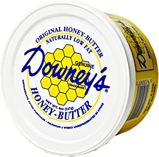 Kauffman's Downey Original Honey Butter, All-natural spread to use as a marinade, or an excellent topping on croissants, i...