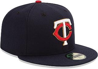 70f0b333b03e38 New Era Men's 59fifty Fitted Hat Alt 2015 Tc Navy Blue Cap Minnesota Twins