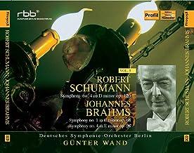 Schumann: Symphony No. 4 / Brahms: Symphonies Nos. 1 & 4