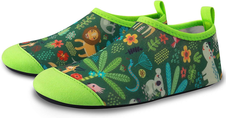 SEEKWAY Toddler Kids Water Shoes Boys Girls Quick Dry Anti Slip Aqua Socks for Outdoor Sports Pool Swim Beach Aquatics