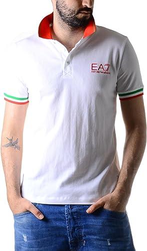EA EA7 - Polo EA7 Emporio Arhommei Blanc 5P283 273750