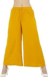 Lagi Women Plazo Plazzo Bottom Wear Ethnic Palazzo Pants Trousers with Kurti Kurtis Kurta