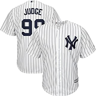 Outerstuff Aaron Judge New York Yankees #99 Infants Cool Base White Home Replica Jersey