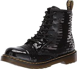 1460 Pooch Sequins Boot (Big Kid)