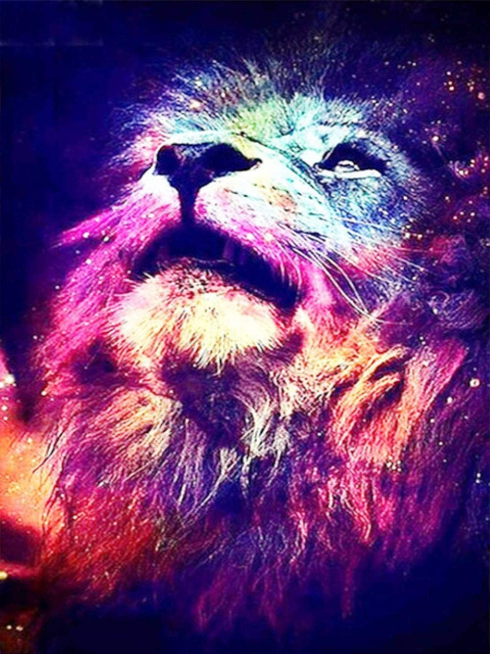 Diamond Painting 5D DIY Embroidery Lion Full Sale Special Price Fresno Mall Diam Square