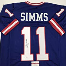 phil simms autographed jersey