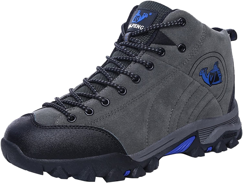 SK Studio Women's Genuine Leather Hiking Boots