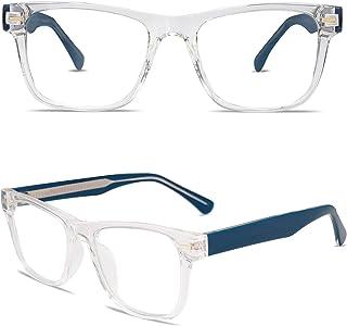 VANLINKER Fashion Blue Light Blocking Glasses Square Fake Non Prescription Computer Eyeglasses VL9110