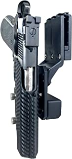 Black Scorpion Outdoor Gear Professional Competition Holster OWB Kydex fits 1911 Govt. Classic Model 5'' 9 mm, 40 S&W, 45 ACP; IPSC, USPSA, 3-Gun Approved, Adjustable in All Angles and Retention
