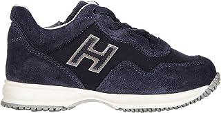 03394bb57b8f20 Hogan scarpe sneakers bimbo bambino camoscio nuove blu EU 25  HXT0920V3118GMU810
